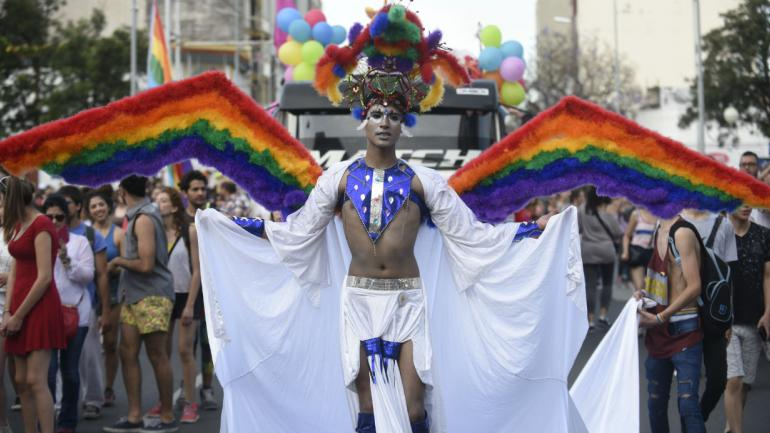 El ángel de la diversidad (archivo, Ramiro Pereira)