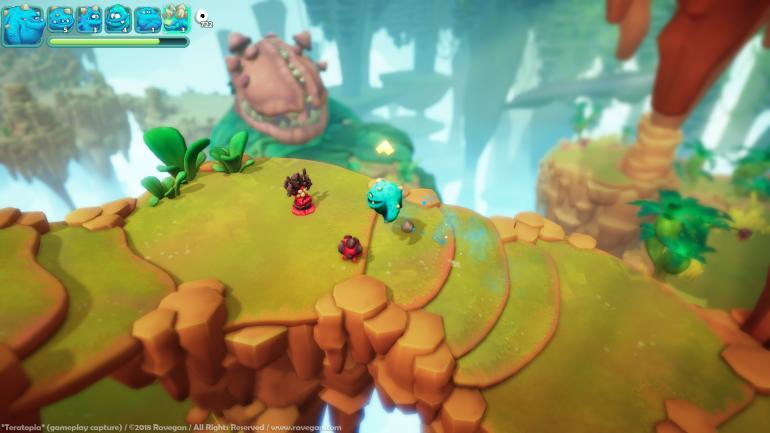"""3. Teratopia. El nuevo juego de Ravegan, el estudio creador de """"Blue Rider"""". (Ravegan.com)"""