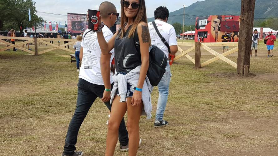 Los looks del Cosquín Rock 2018