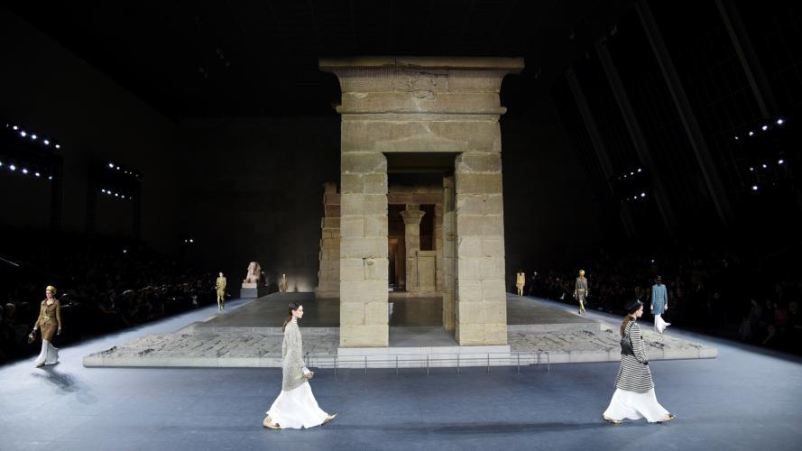 Chanel recreó Egipto y llevó las mujeres más talentosas a su show
