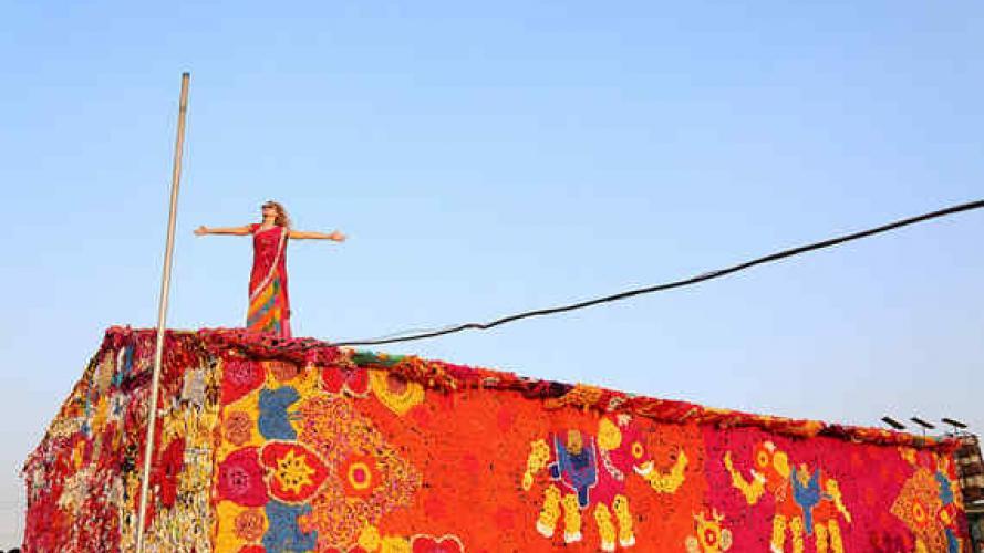 Olek: a punto crochet