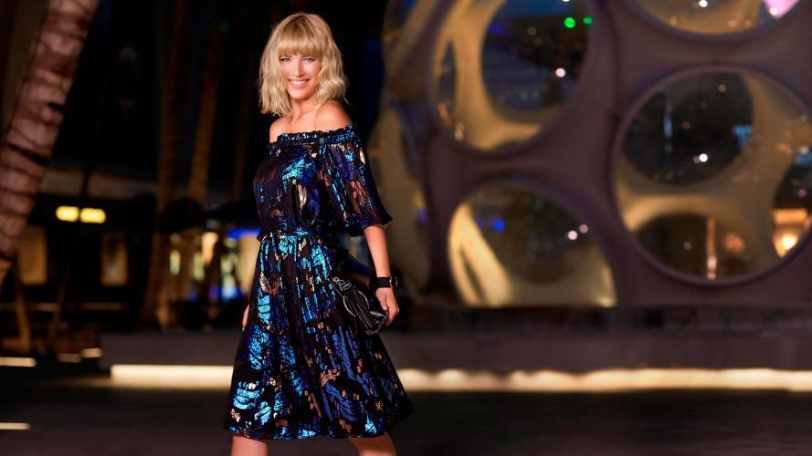 ¡Qué diosa! Luisana Lopilato, con nuevo look, modelo de una marca top