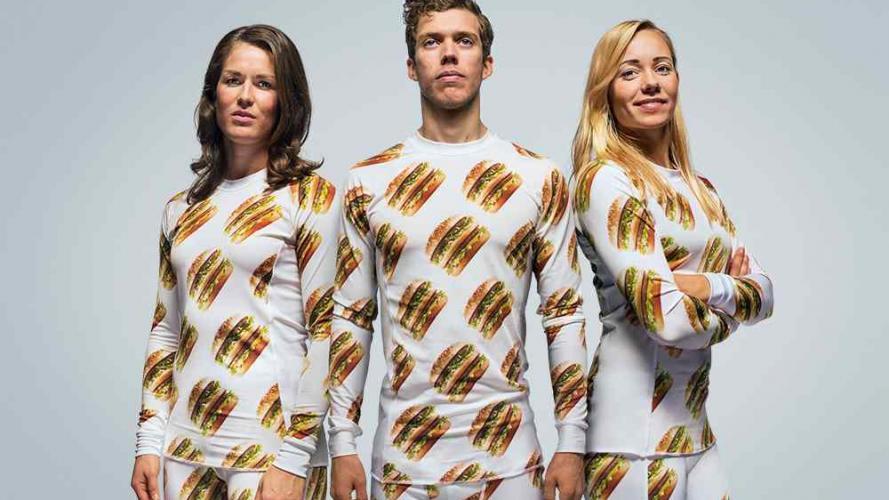 Colección inspirada en la Big Mac