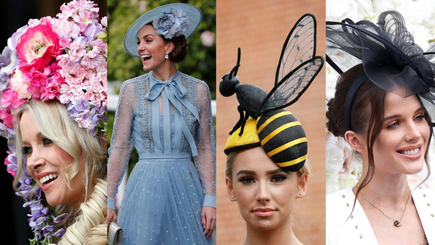 Royal Ascot: los sombreros más extravagantes y sorprendentes del evento