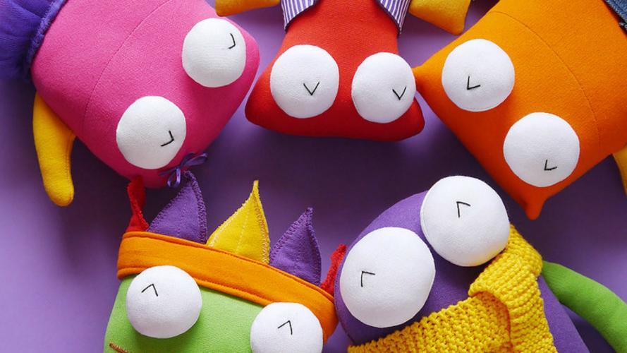 Muñecos de tela que vuelven locos a los niños ¡y están hechos en Córdoba!