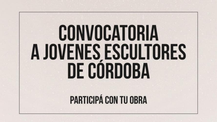 Convocatoria para escultores cordobeses con premios de hasta 35 mil pesos