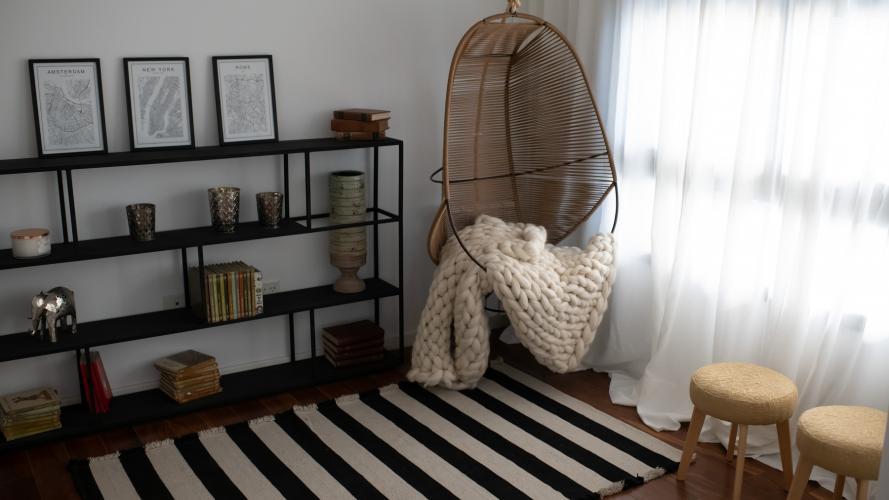 Cómo decorar con estilo nórdico: te lo mostramos con el departamento modelo de Casonas del Sur II