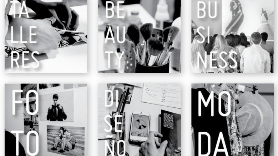 Cursos y talleres de moda, diseño, fotografía y negocios, con salida laboral