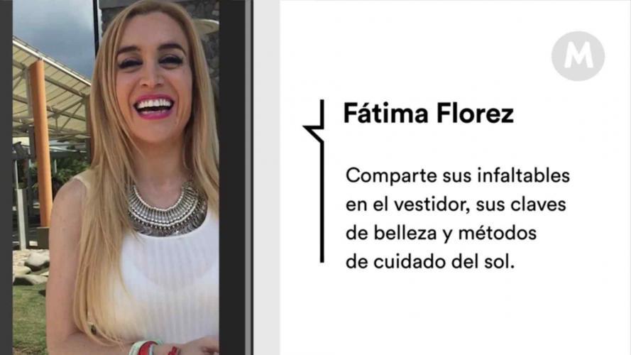 Fátima Florez nos comparte sus secretos de belleza