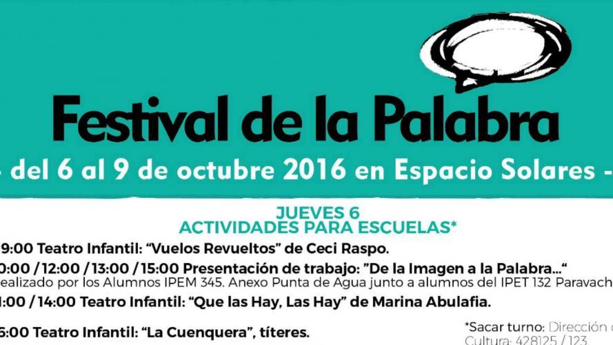 Córdoba: Festival de la Palabra en Alta Gracia