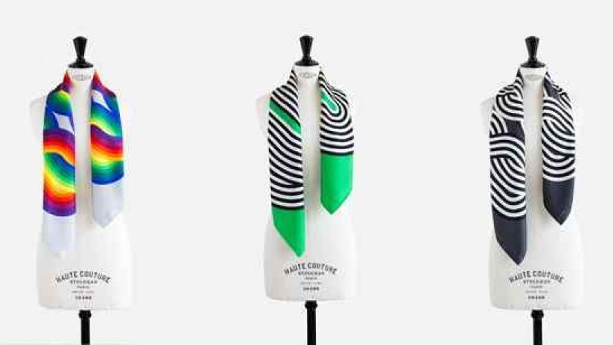 Hermès lleva la obra de Julio Le Parc a sus pañuelos