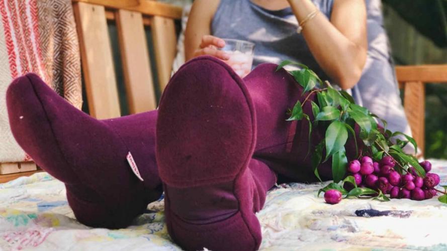 La prenda más cómoda (y graciosa) para este invierno se llama jogging-tufla... ¿la usarías?