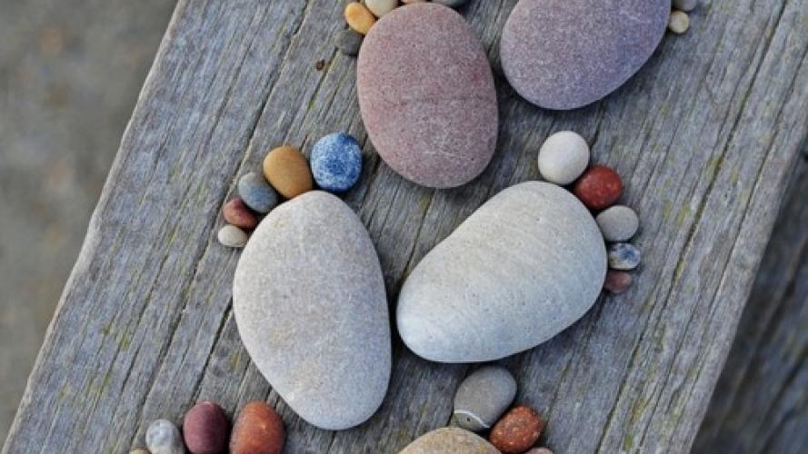 9 Ideas Deco Con Piedras Musa