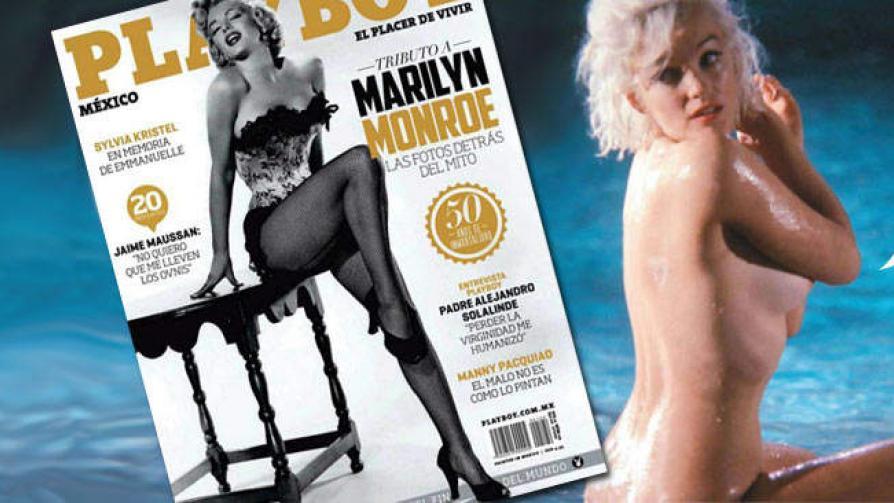 Todos Los Desnudos De Marilyn Para Playboy