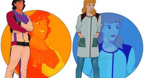Galería: Así serían los personajes de Disney si fuesen a la universidad