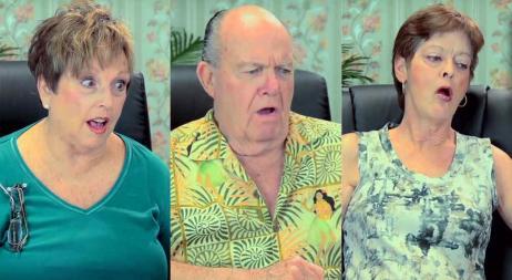 Desopilante: la reacción de adultos mayores al tráiler de