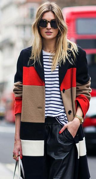 Combinaciones de colores perfectas para vestir este invierno