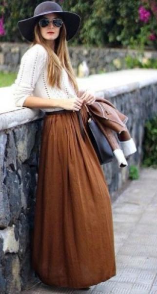 ¡Animate al marrón! Opciones para usar el color tierra en tus looks