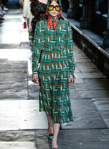 La Abadía de Westminster fue la pasarela de Gucci