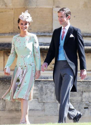 Boda real: la mejor vestida fue la hermosa sobrina de Lady Di