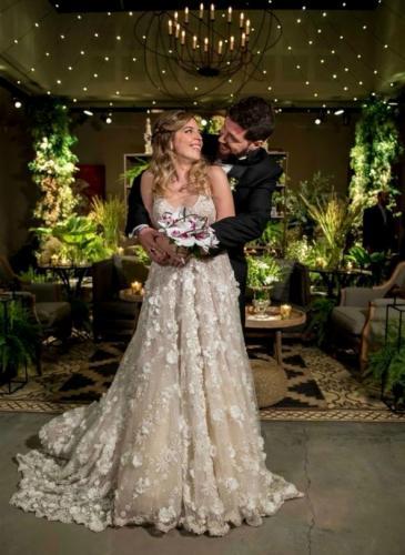 ¡Se casó Dalma Maradona! El vestido y los looks de los invitados