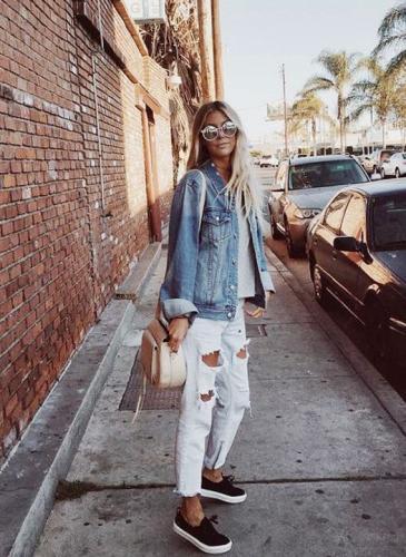 Cómo usar la tela de jean esta primavera-verano