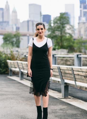El vestido noventoso que se convirtió en un básico