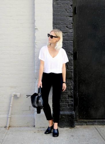 Mágicas: mirá todos los looks que podés armar con una remera blanca