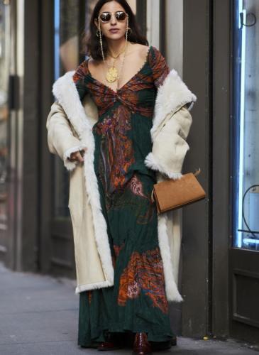 Empezó el invierno: ¿te animás a usar esta moda que remite a otra época?