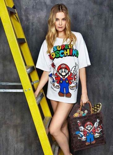 Moschino y Nintendo lanzan una colección de Mario Bros