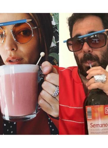 Desopilante: el humorista argentino que imita poses sexys de modelos y famosos