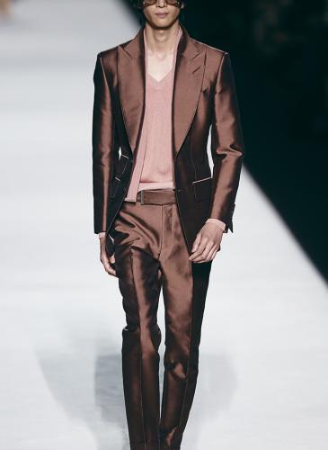 Tom Ford abrió la Semana de la Moda de Nueva York, y gustó