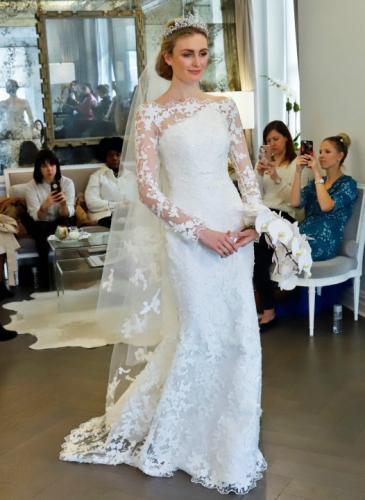 Inspiración para novias: diseños que llegan desde Nueva York