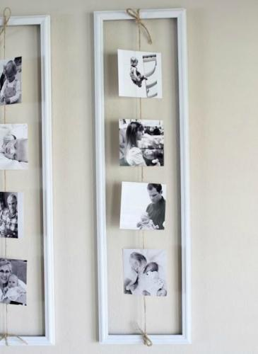 Propuestas creativas para decorar con fotos