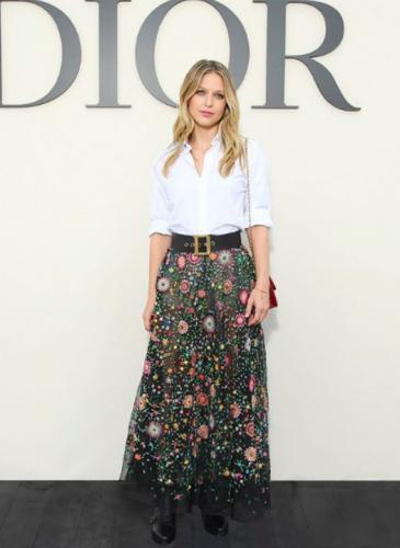 Los looks de las famosas en el desfile de Dior: uno más lindo que el otro