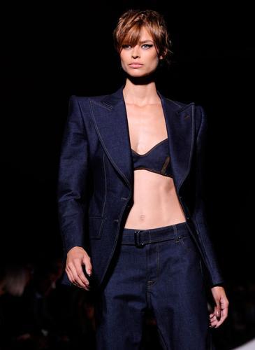 ¡Ultrasexy! Tom Ford resucitó los ´90 en la New York Fashion Week