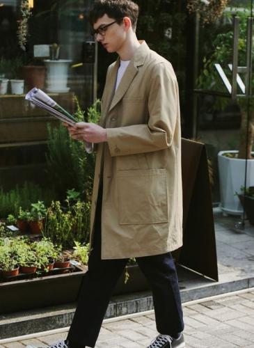 Abrigos para hombres: conocé la moda para ellos