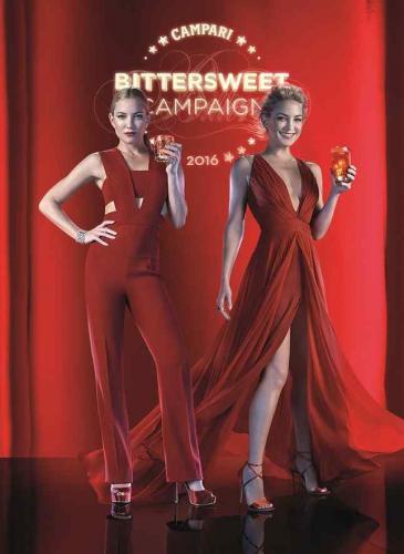Kate Hudson: musa 2016 para el calendario de Campari