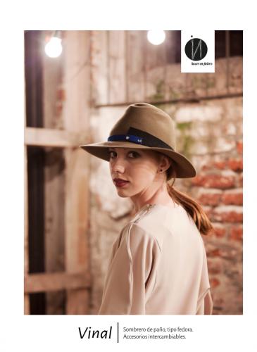 Tinte sombreros: amor al oficio
