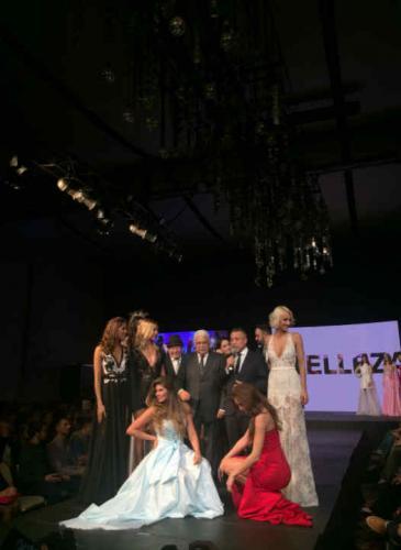 Imponente desfile de Silkey con Ingrid Grudke, Taina Ferreira y Nicole Neumann en pasarela