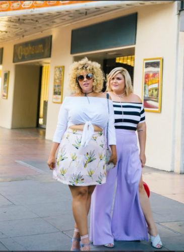 Dos blogueras que trascendieron dedicándose a los talles grandes