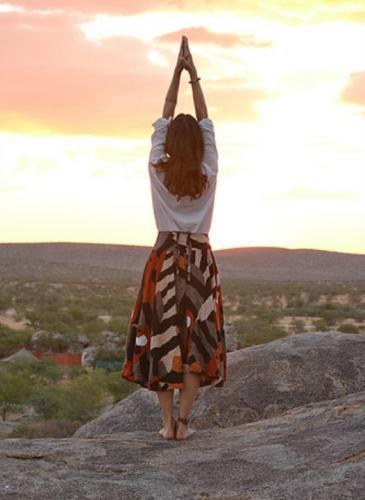De Miss Italia a profe de yoga: la nueva vida de una cordobesa que inspira paz
