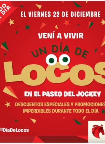 Promos, regalos y música en vivo, mañana viernes en Paseo del Jockey