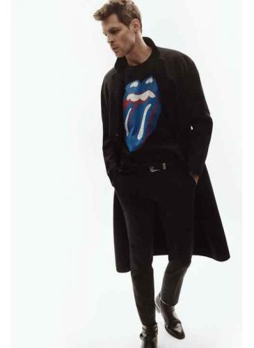 Zara lanzó una colección inspirada en el nuevo disco de los Rolling Stones